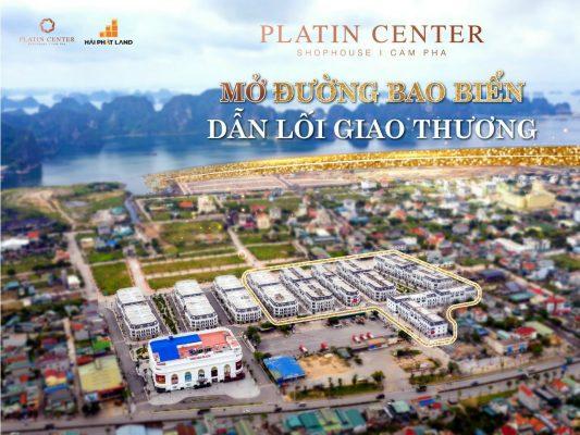 tổng quan dự án platin center cẩm phả