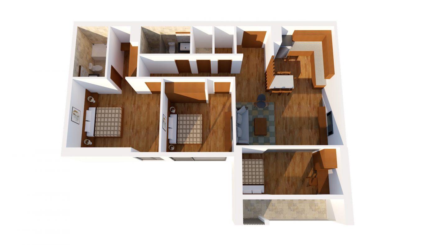 Thiết kế căn F HPC Landmark 105