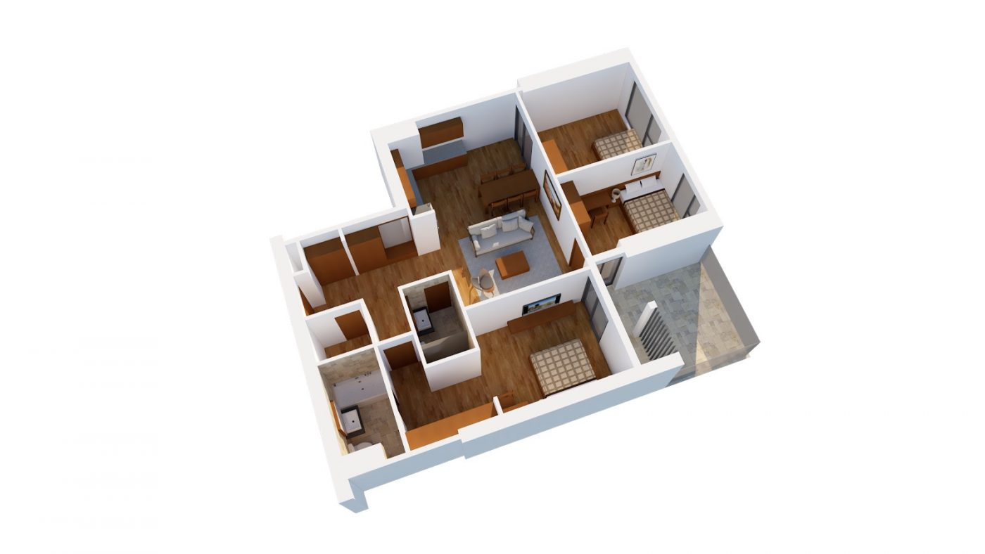 Thiết kế căn G HPC Landmark 105