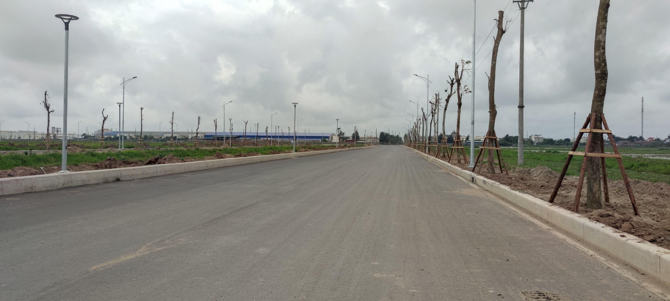 đường vào dự án