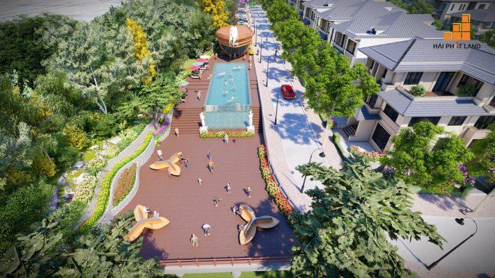 Tiện ích nội khu Hạ Long Flower Resort - Biệt thự đồi thủy sản