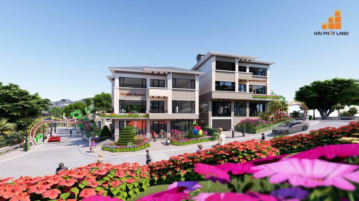 Công viên đầy hoa của Hạ Long Flower Resort