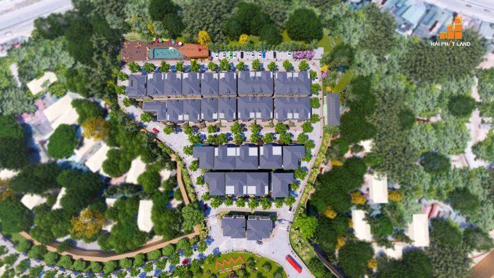 Thiết kế hình ZigZag từ chân đến đỉnh đồi dự án Hạ Long Flower Resort