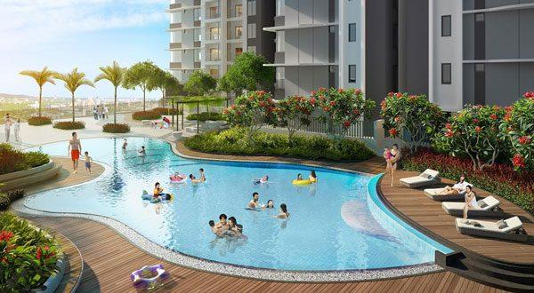 Bể bơi ngoài trời BID Residence 104