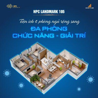 Căn N 142m HPC Landmark 105
