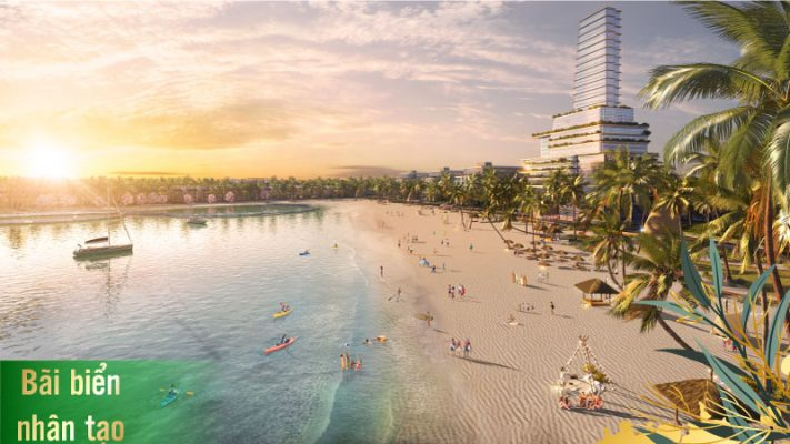 Bãi biển nhân tạo TMS Homes Wonder World