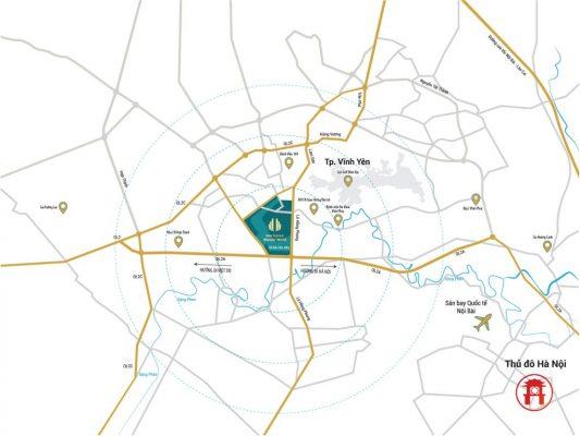 Bản đồ vị trí TMS Homes Wonder World
