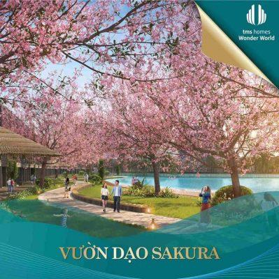 Vườn dạo Sakura TMS Homes Wonder World